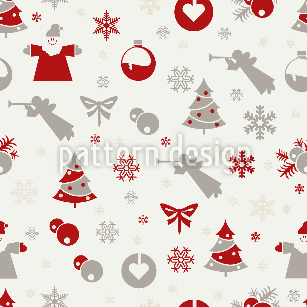 Designtapete Weihnachten Ist Hier