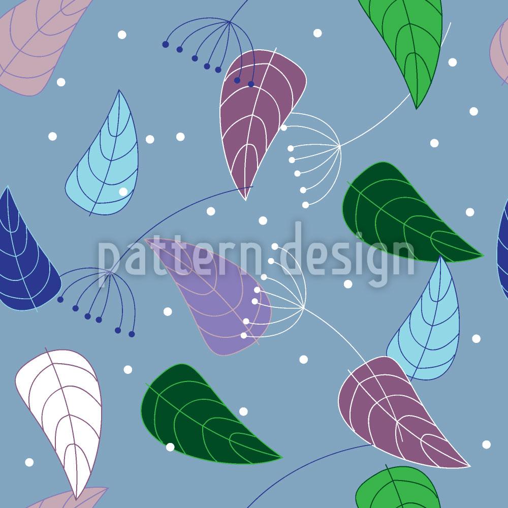 Designtapete Interessante Blätter