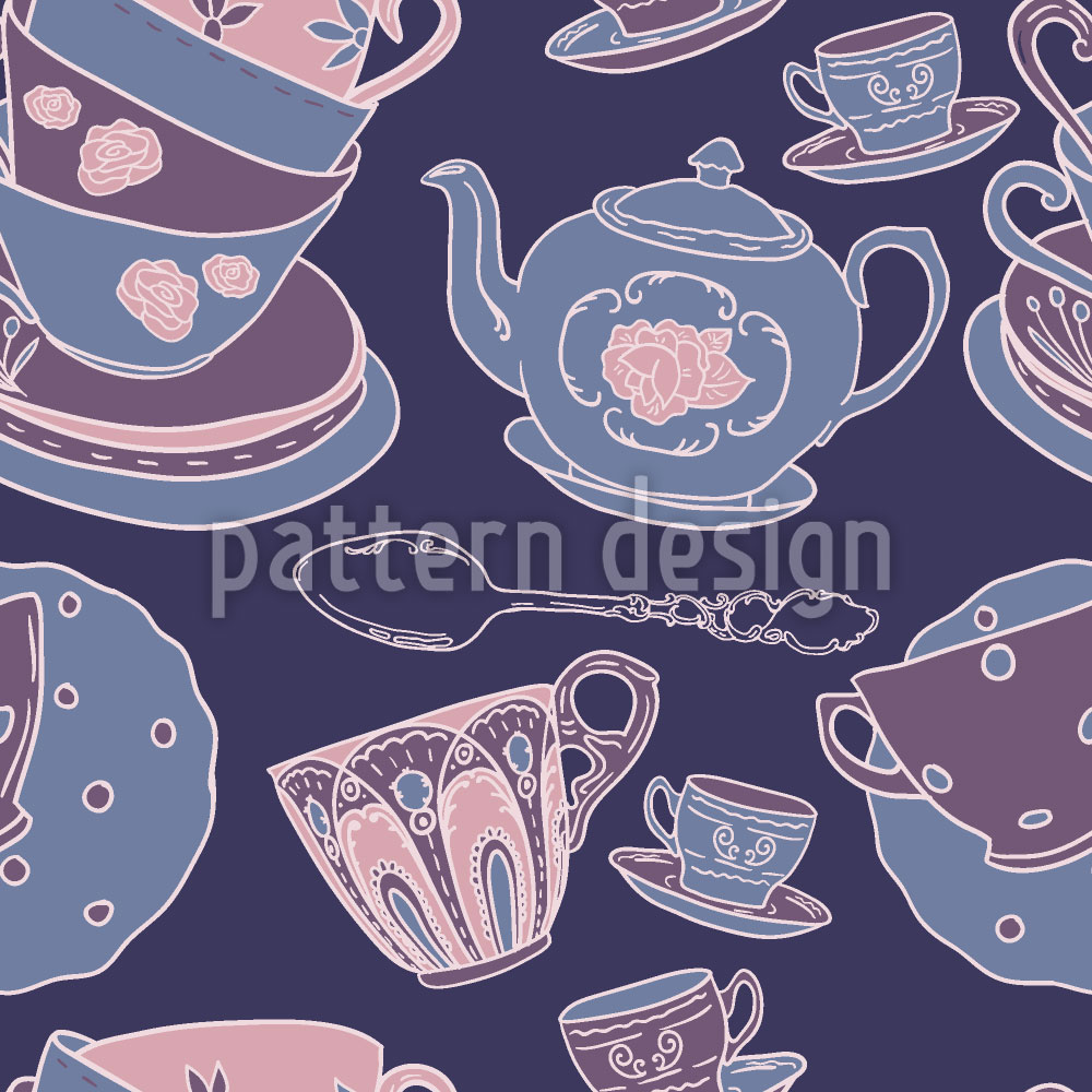 Designtapete Keramik