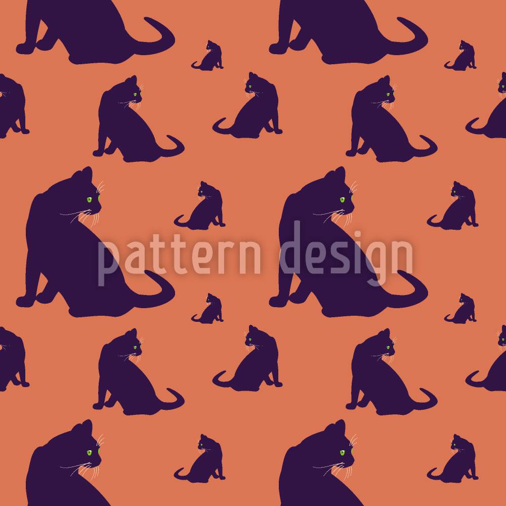 Designtapete Katzen Im Blick