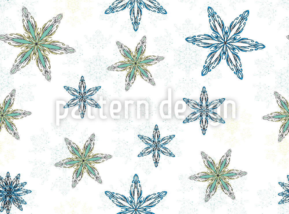 Designtapete Schneezauber