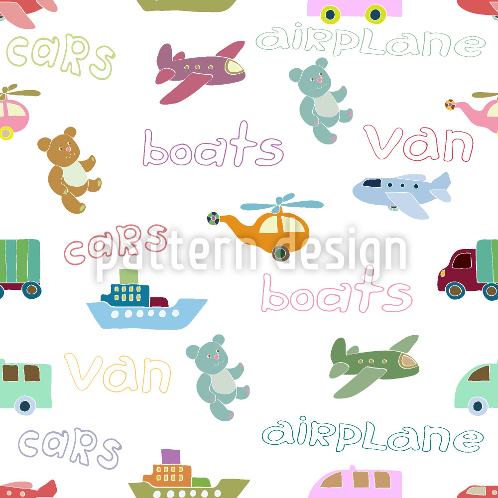 Designtapete Diverse Fahrzeuge