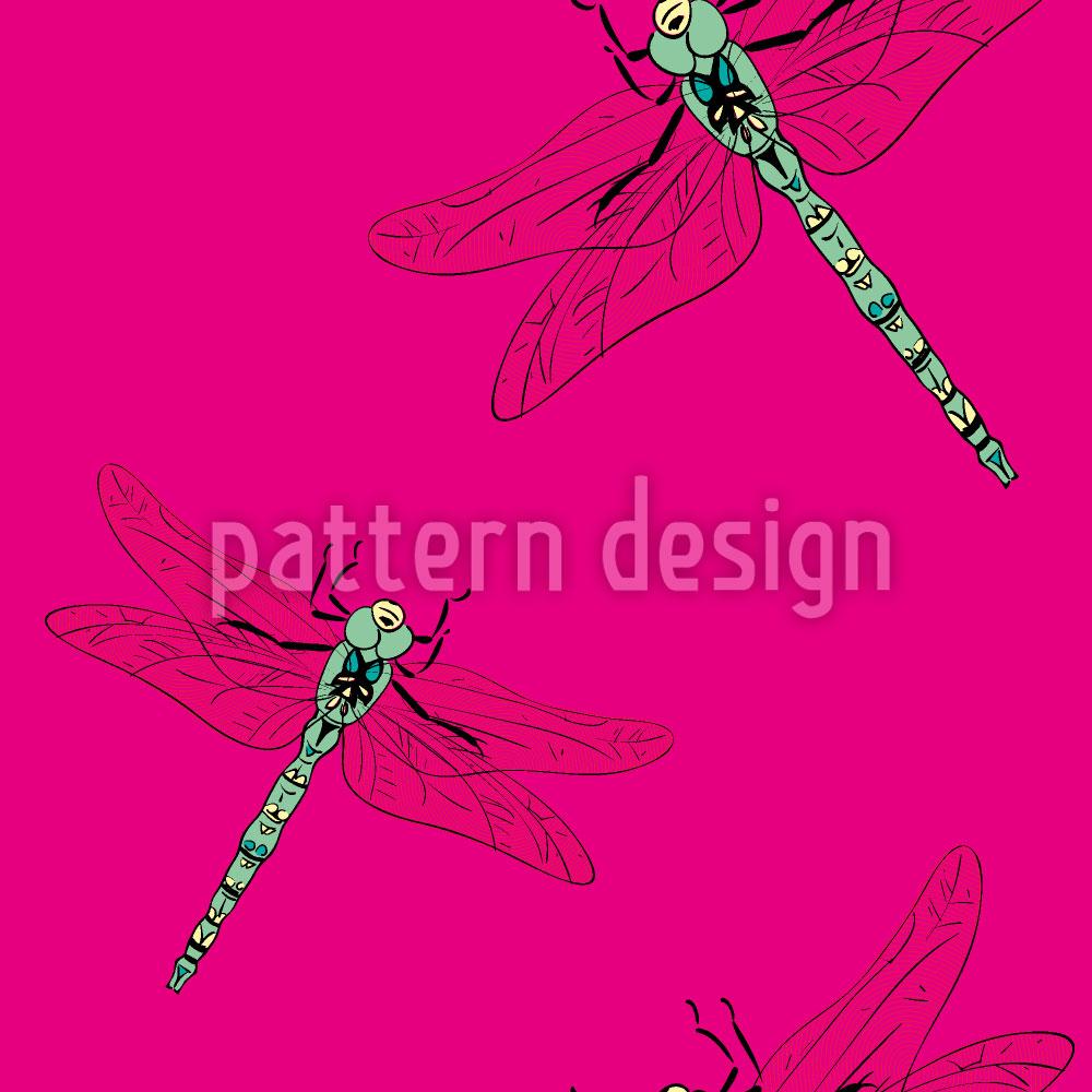 Designtapete Meine Libelle
