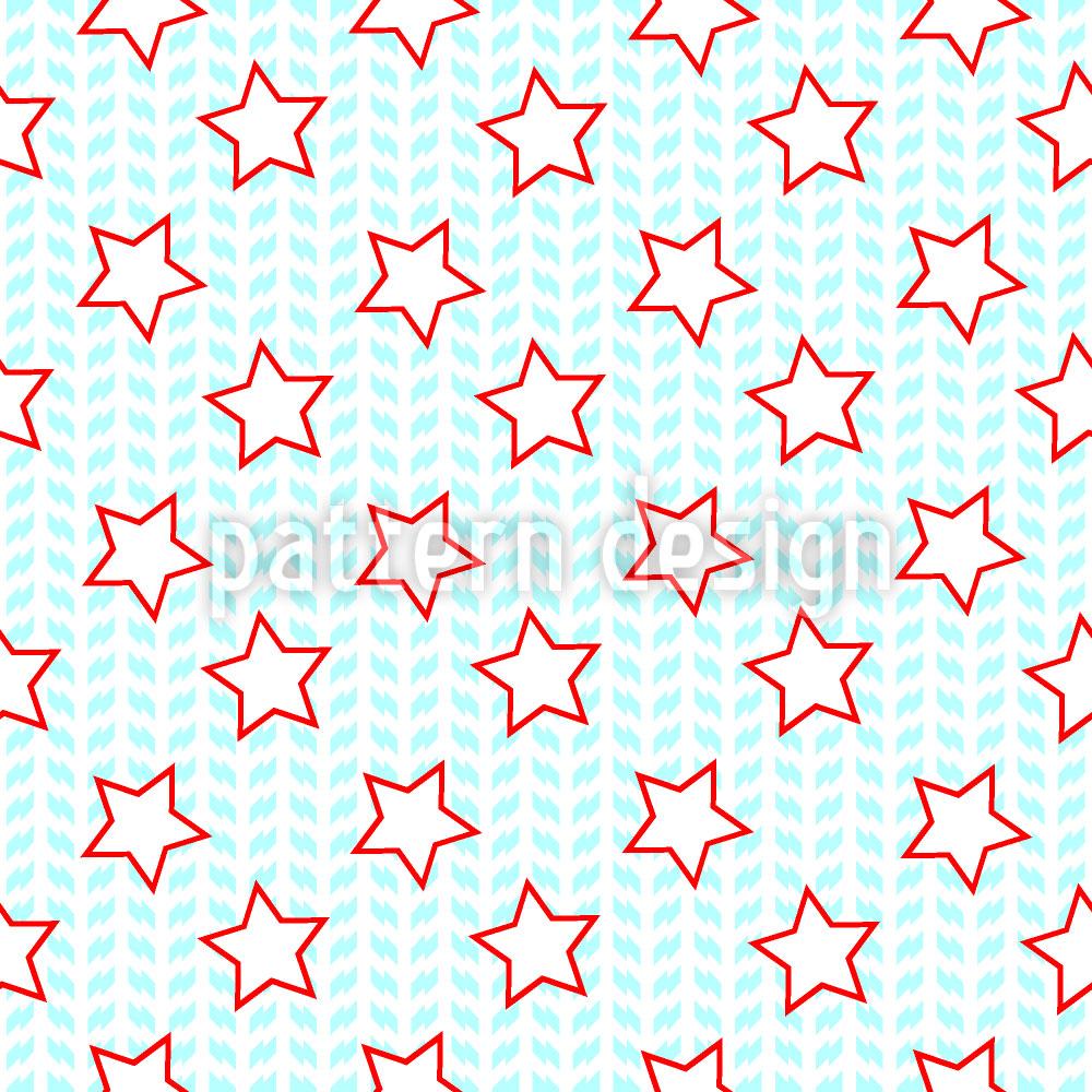 Designtapete Sternchen Zählen