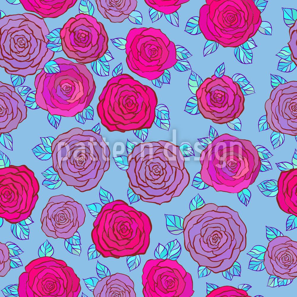 Designtapete Im Rosen Himmel