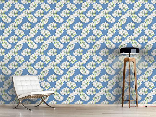Designtapete Lilien Bouquet