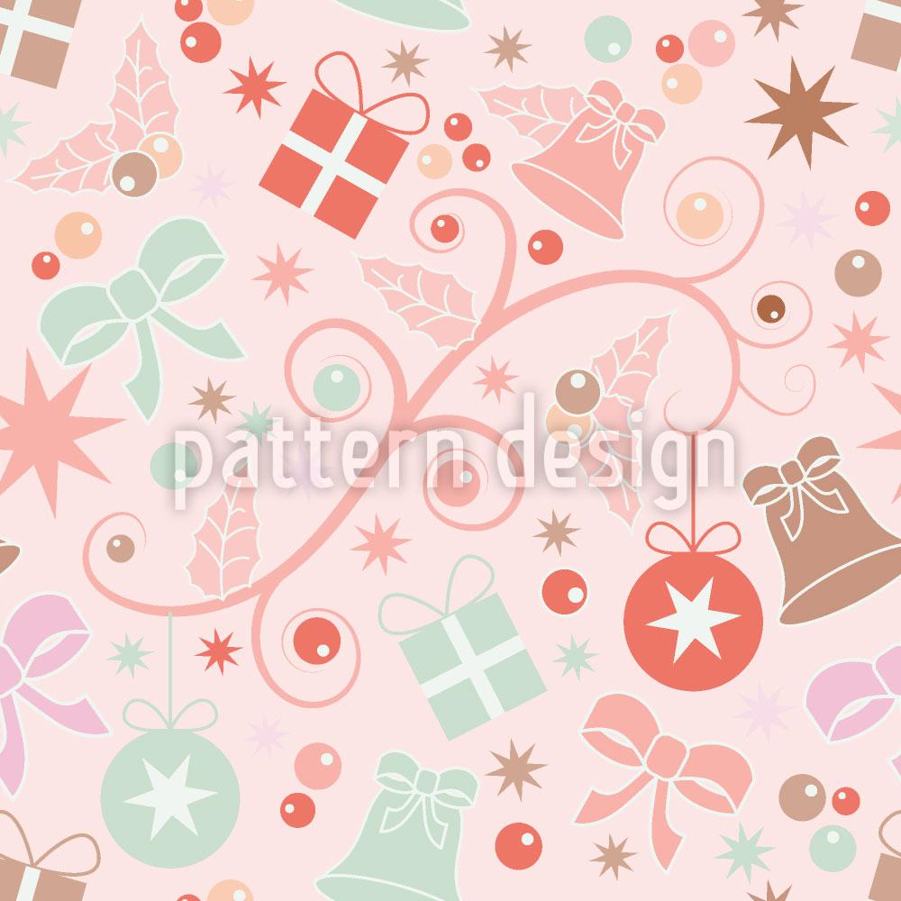 Designtapete Romantische Weihnacht