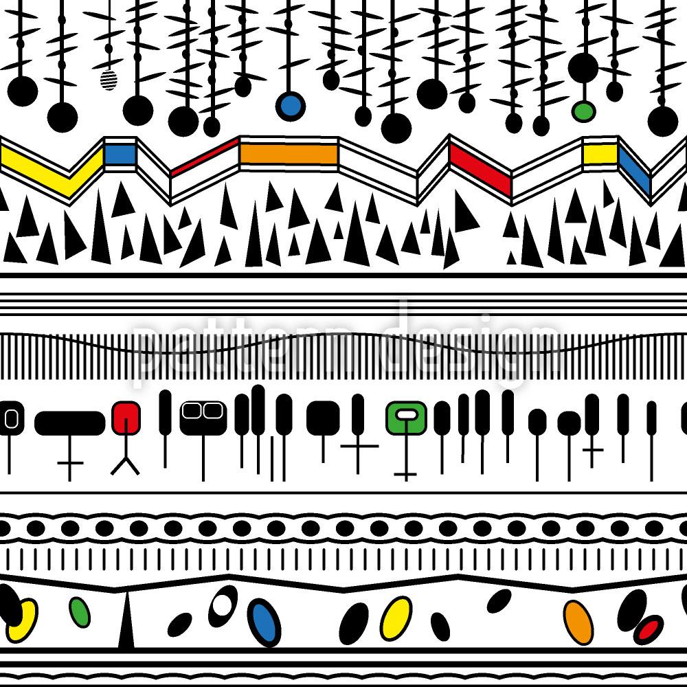Designtapete Miros Weg Der Farben