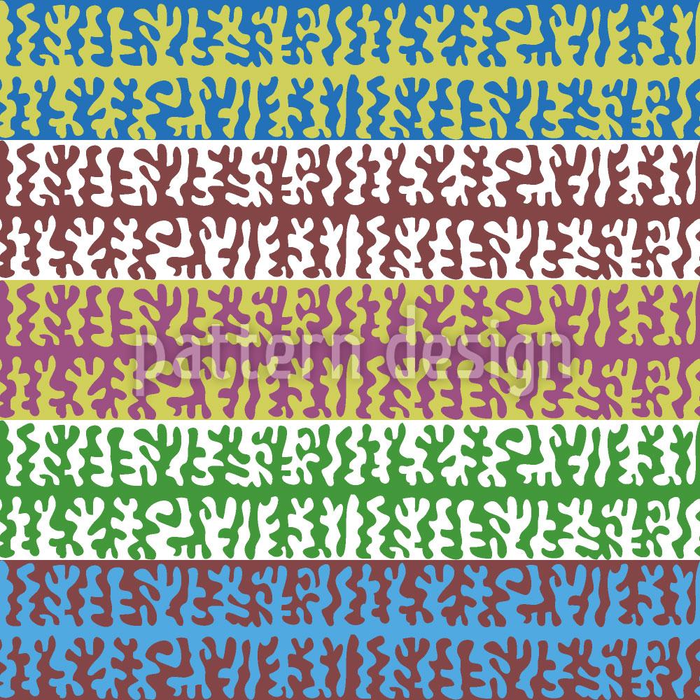 Designtapete Bewegung von Flimmerhärchen