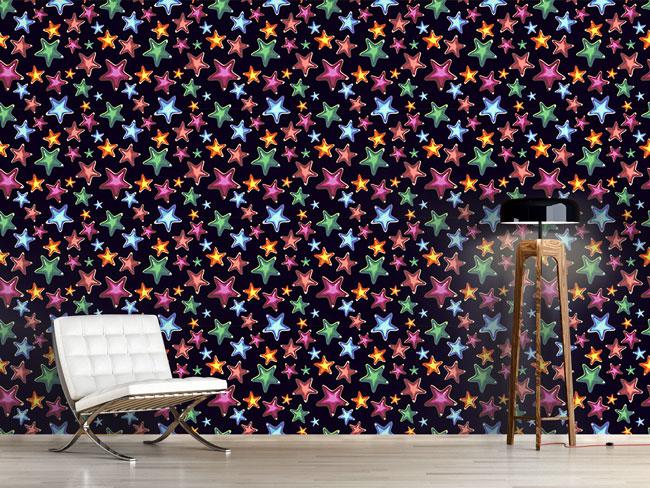 Designtapete Sterne