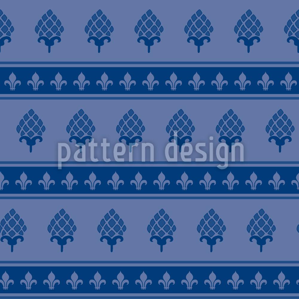 Designtapete Royale Artischocken