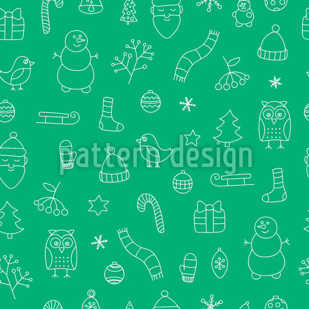 Designtapete Schöne Weihnachtszeit