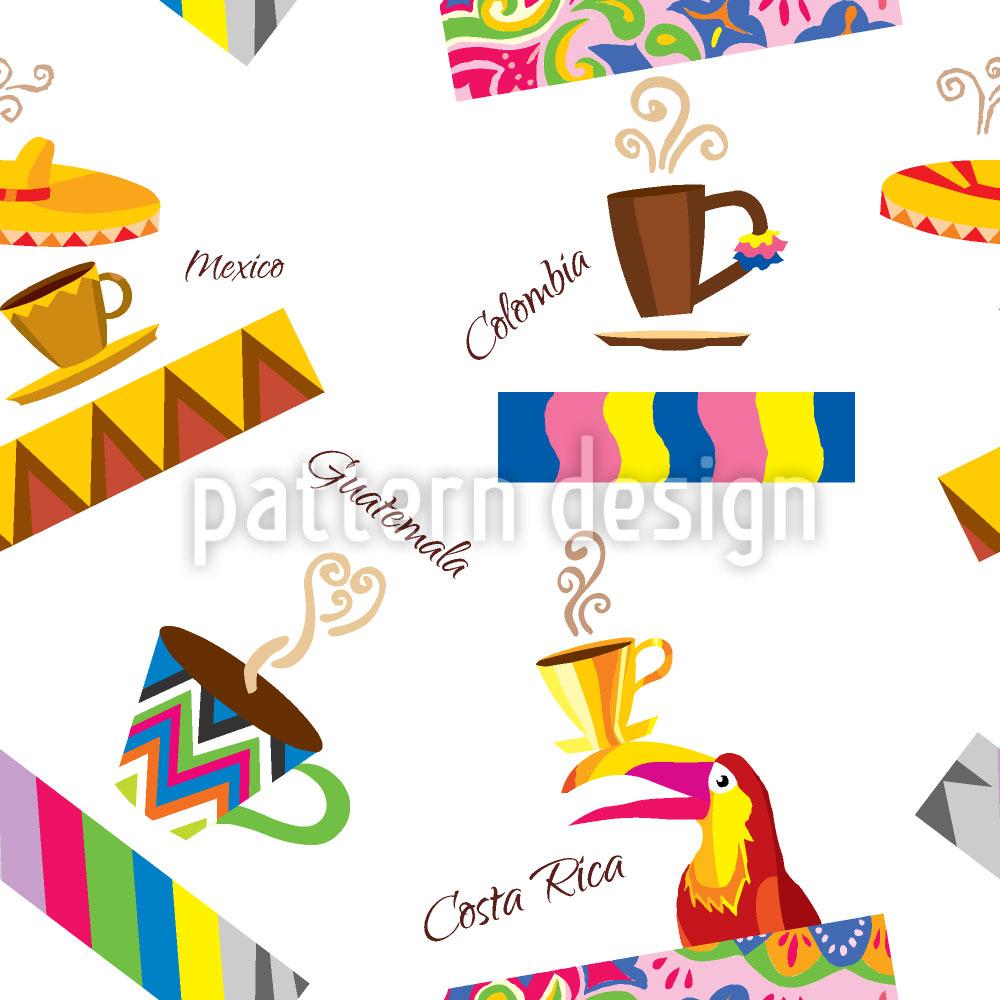 Designtapete Kaffee Ursprünge
