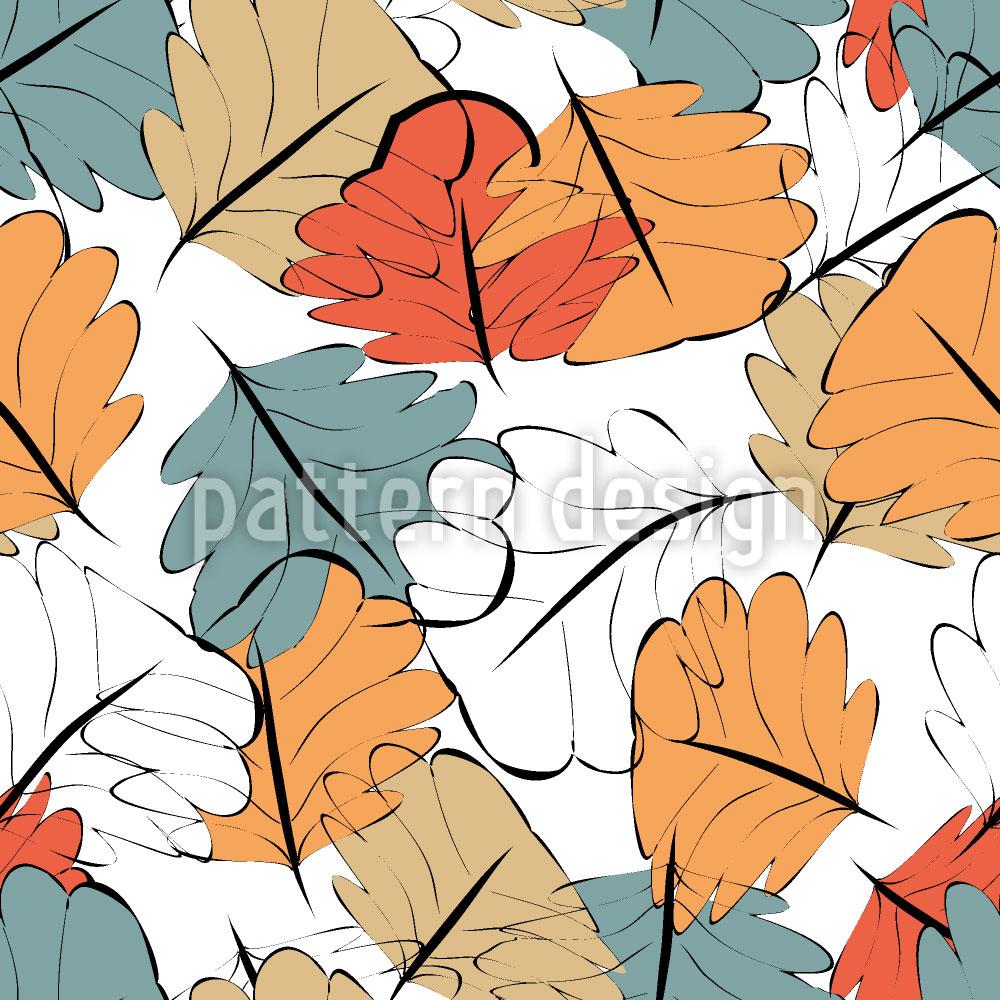 Designtapete Leuchtender Herbst