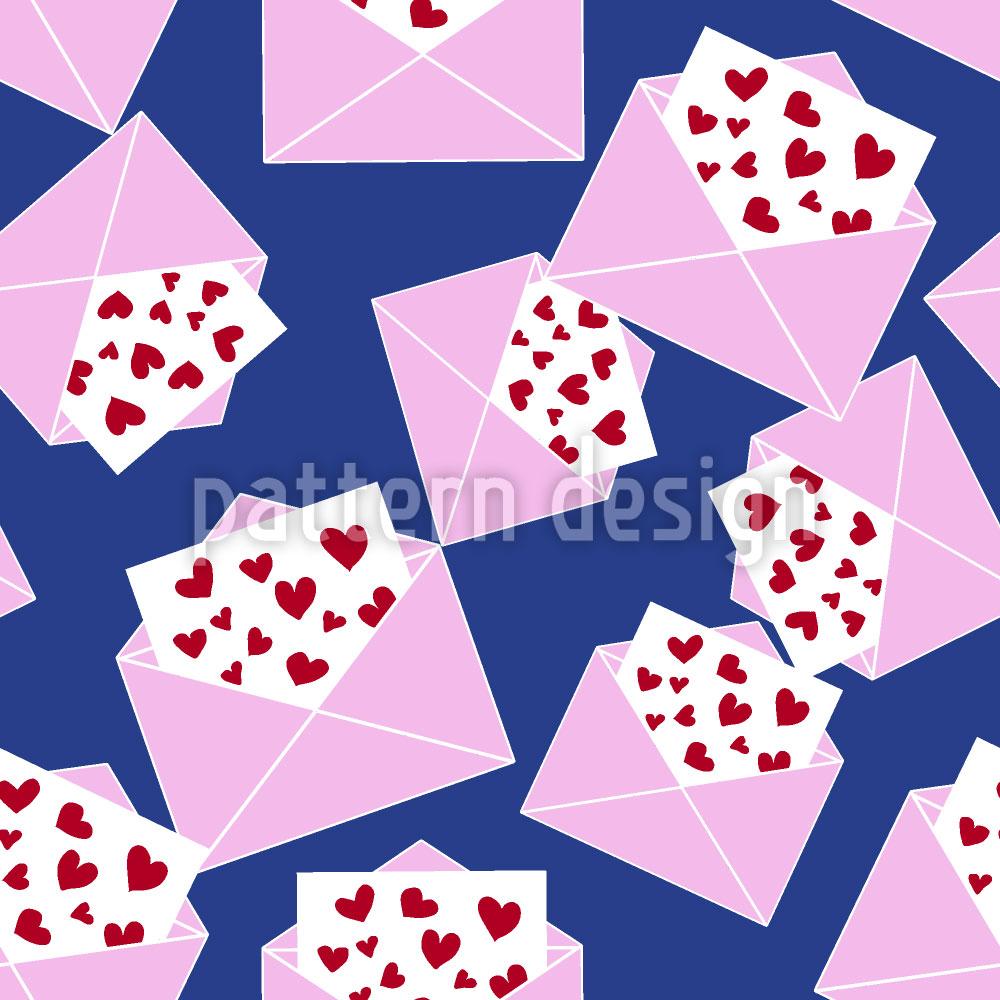 Designtapete Noch Mehr Liebesbriefe