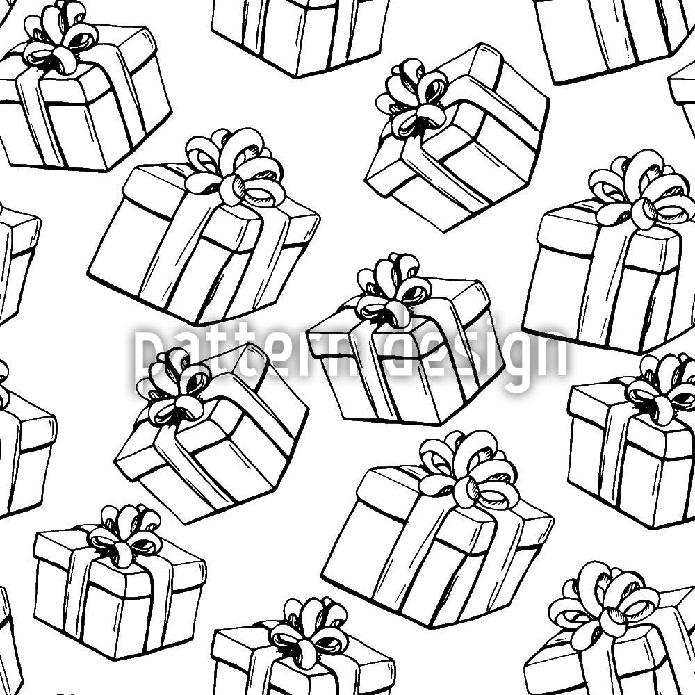 Designtapete Geschenkschachteln