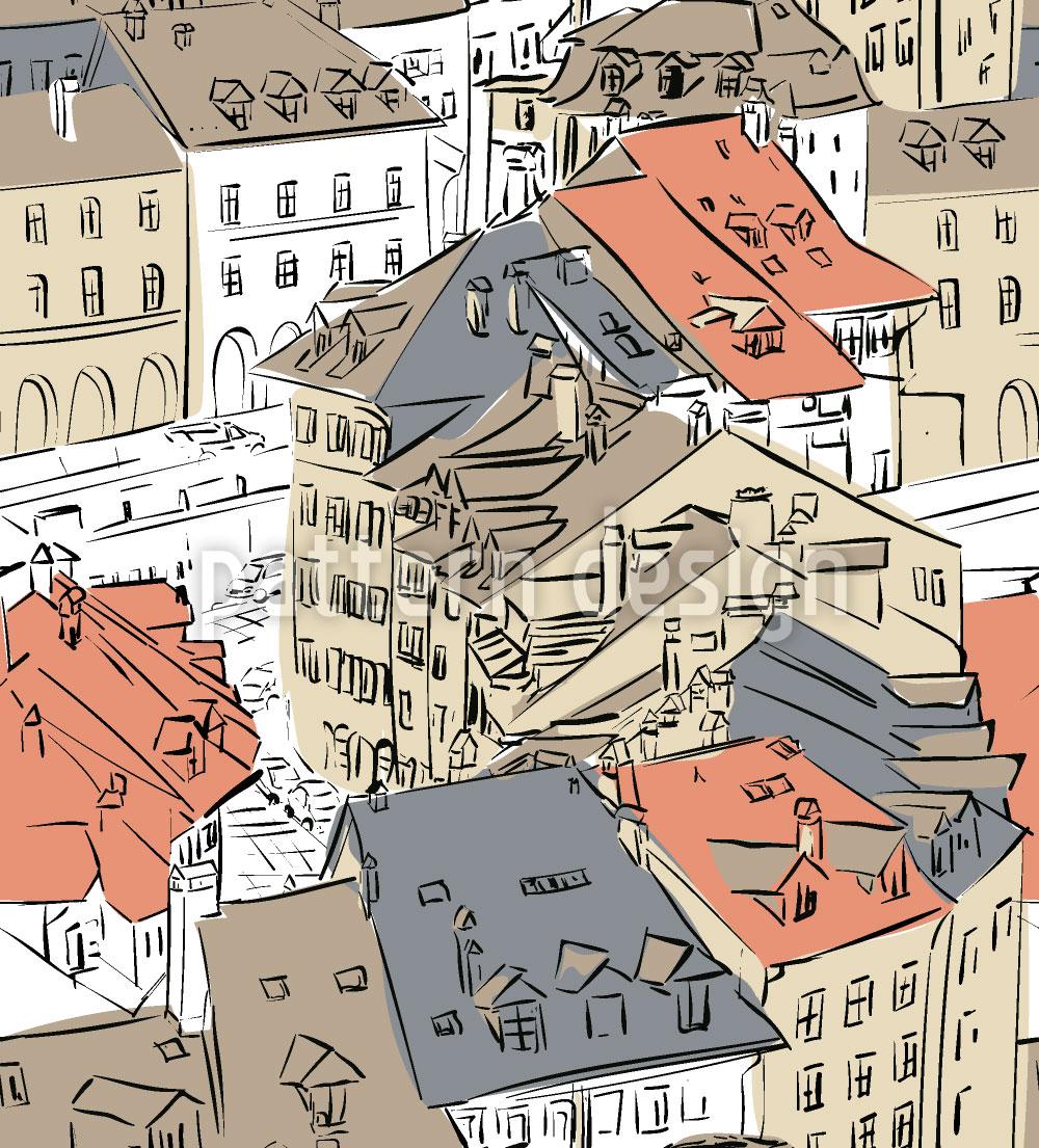 Designtapete Altstadt