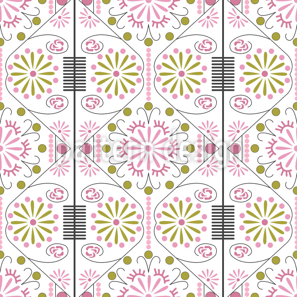 Designtapete Koreanische Blume